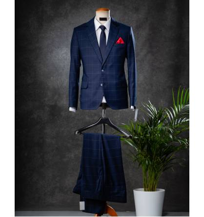 [S$ 759.00] 100% Bespoke Tailor Made Suit